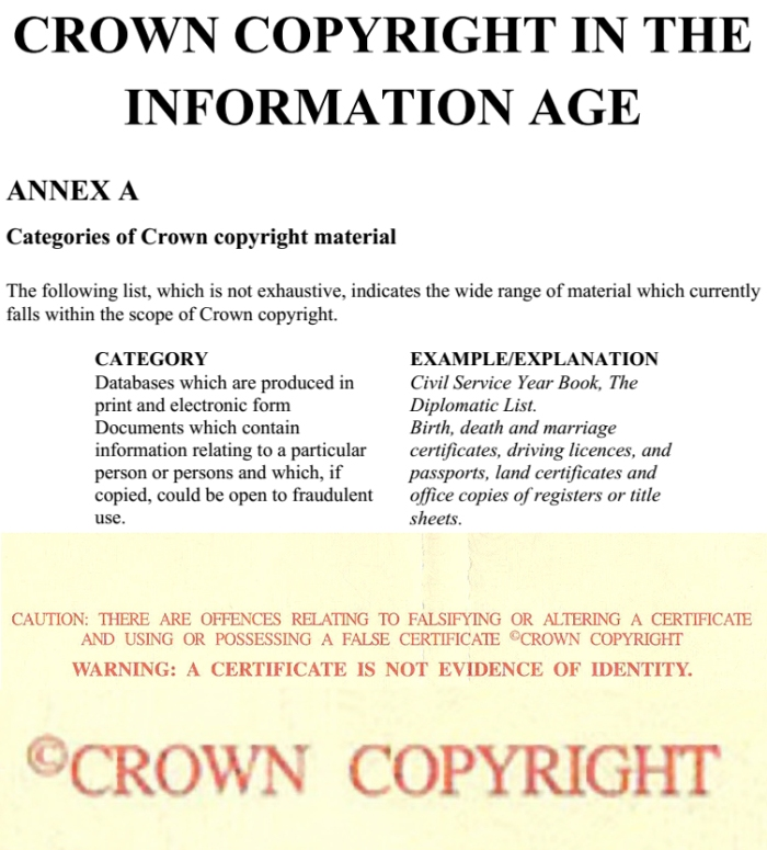Crown Copyright In The Information Age
